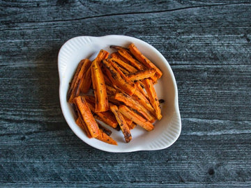 Roasted Black Cumin Carrot Sticks Recipe