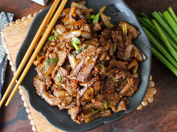 Spicy Flank Steak Stir Fry