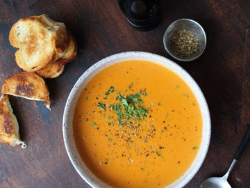Tomato Bisque with Herati Coriander