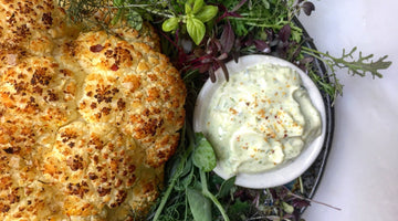 Whole Roasted Cauliflower - Kabul Piquant Spice Blend