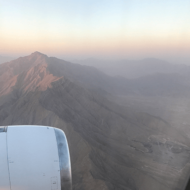sunrise over the hindu kush afghanistan saffron