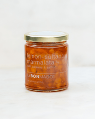 Lemon-Sultana Marmalata with Caraway and Saffron