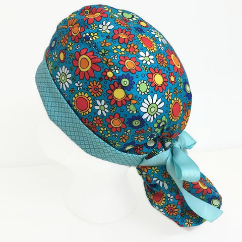 OR Hats Ponytail Scrub Hat-Cap