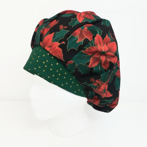 Bouffant Christmas Scrub Hat OR Hats