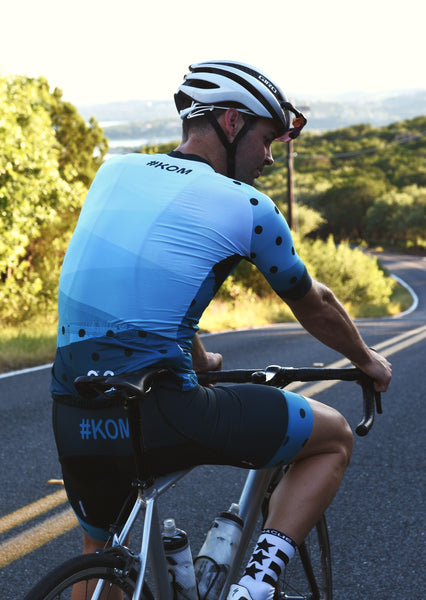 KOM Cycling bib shorts - Men