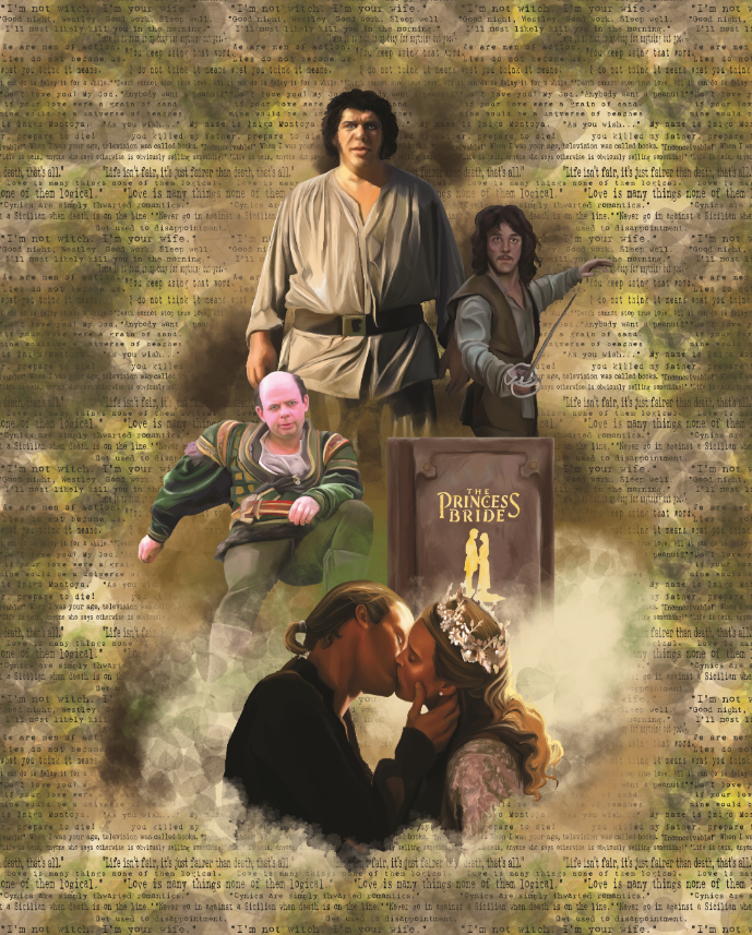 PRINCESS BRIDE CUSH TOPPER