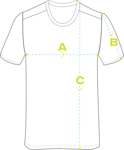 How to measure- Jersey
