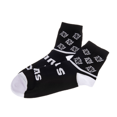 Black Long Socks Midnight Collection