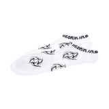 White Short Socks Midnight Collection