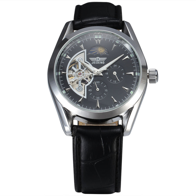 lunar amazon moon phase forsining s wrist watch automatic dp watches com men