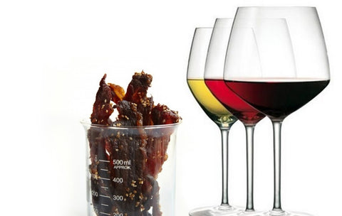 Jerky and Wine