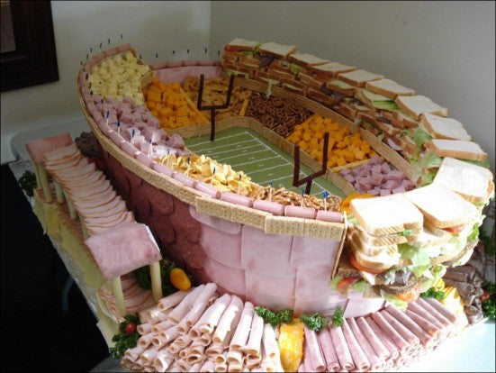Super Bowl Snacks Stadium