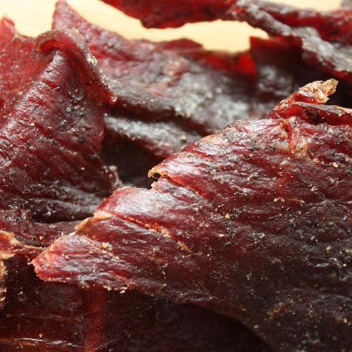Sweet 'n Hot Smoked Beef Jerky