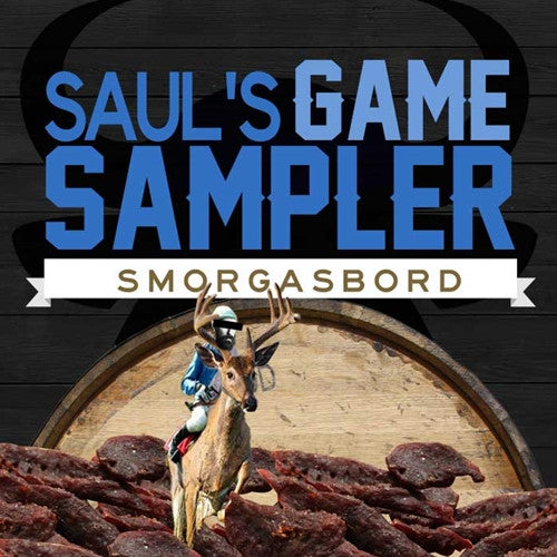 Sauls Game Jerky 3 Pack Sampler