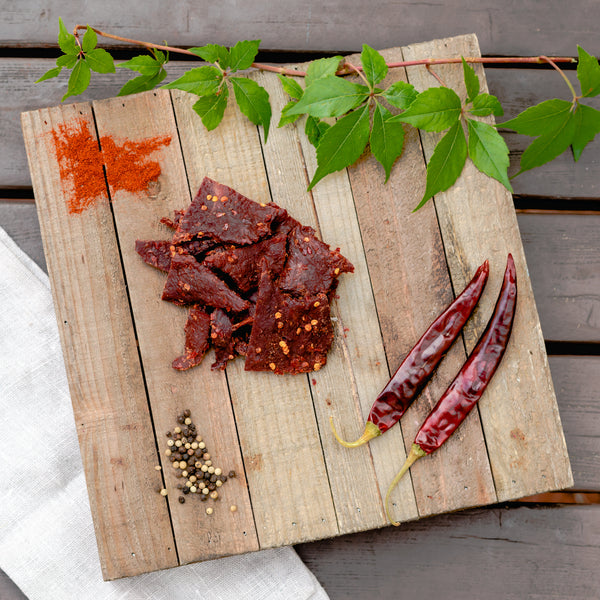 Blazin' Hot Smoked Beef Jerky