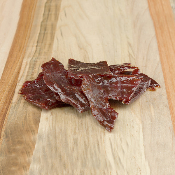 Cherry Maple Smoked Elk Jerky
