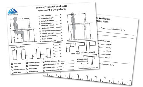 Remote Assessment Forms