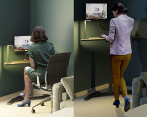 Sitting and Standing to work