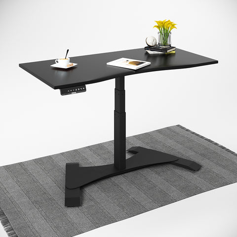 Small Footprint Single Leg Sit-Stand Workstation