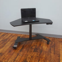 Small Footprint Sit-Stand Mobile Workstation