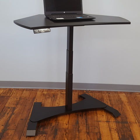 Small Footprint Sit-Stand Workstation