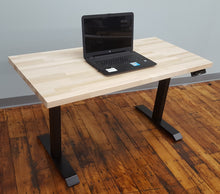 Rectangular Sit-Stand Workstation (Extended Range) - Black