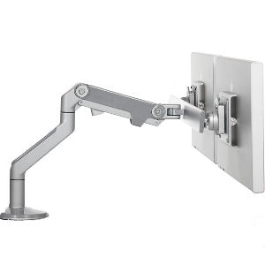 Humanscale M8.1 Monitor Arm w/ CrossBar for Dual Monitors