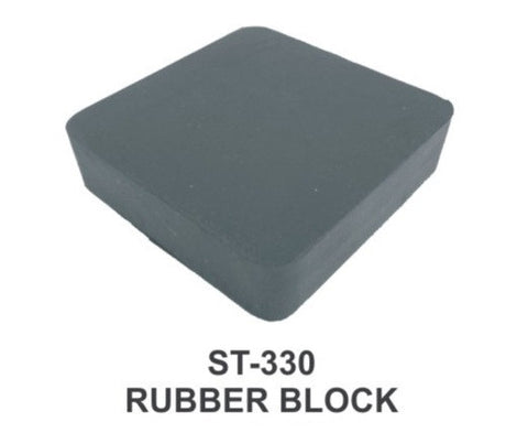 "PARUU® RUBBER BLOCK FOR JEWELLERS 6X4X1"" st330-6x4x1"