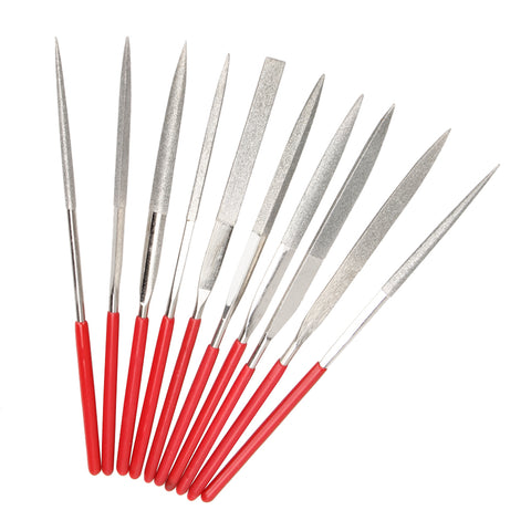 10pcs 3x140mm Diamond Mini Needle File Set st1013 - PARUU INC