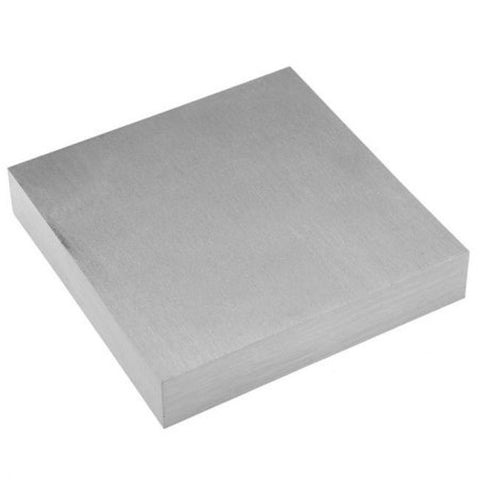PARUU® Jewelers Bench Block Dapping Flattening Work Forming Anvil st328-6x6x3/4 - PARUU INC