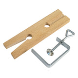 Paruu Jewelers Bench Pin V-Slot Bench Pin with Clamp ST341 - PARUU INC