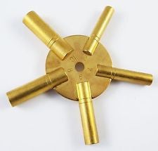 PARUU® clock key brass watch repair 2-4-6-8-10 size st761A - PARUU INC