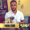 Roberick, won $100 on Instagram