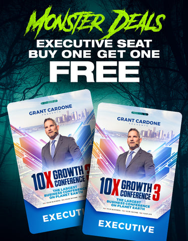 Monster Deals - Buy One Executive Seat Get One Free