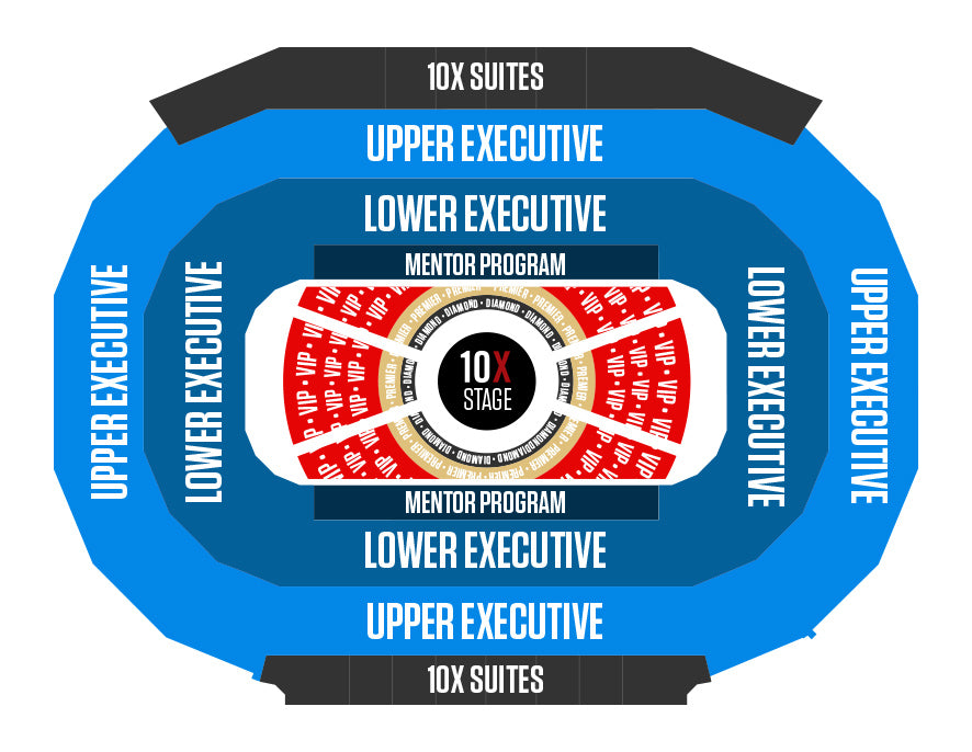 10X Growth Conference 4 - Seating Chart