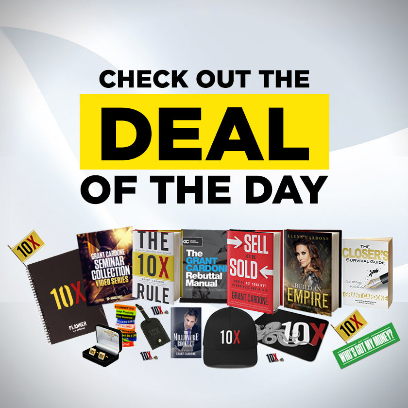 Deal of the day banner