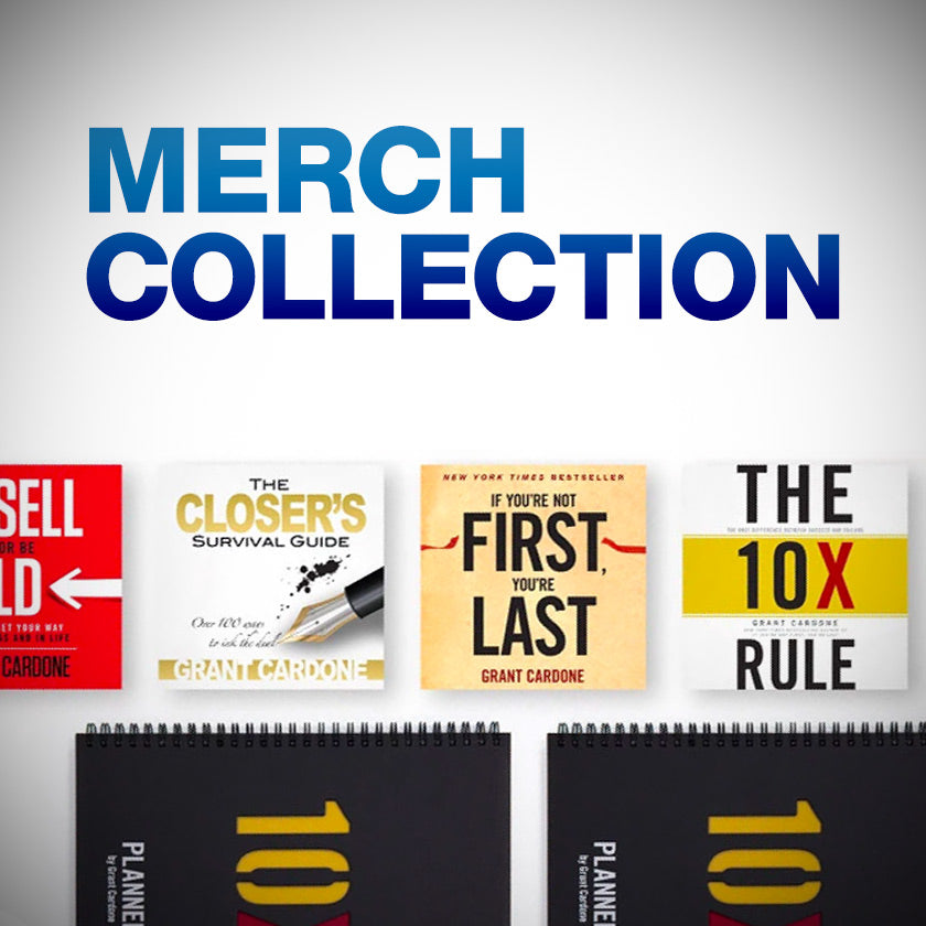 Grant Cardone Merch Collection Banner