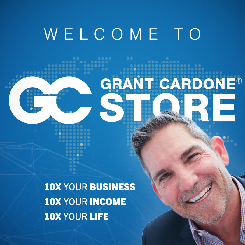 Welcome to Grant Cardone Store Banner
