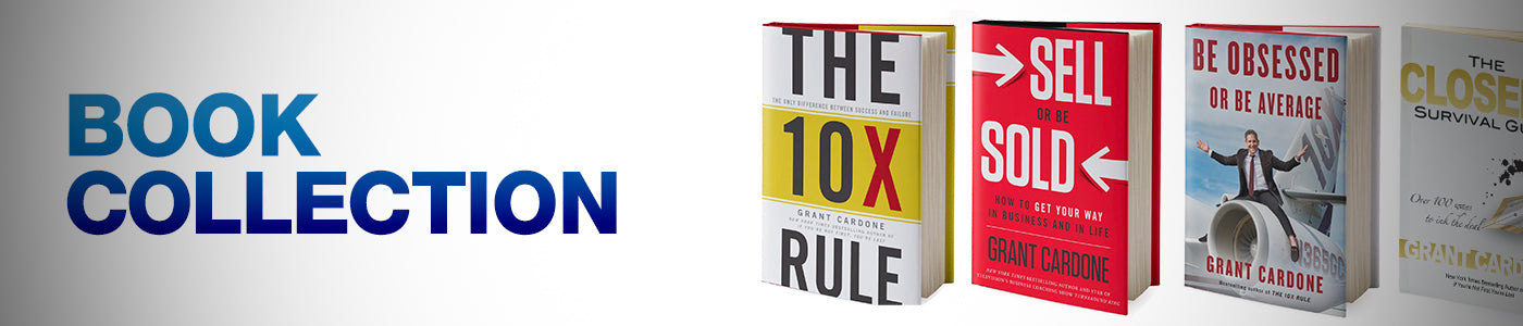Grant Cardone Book Collection Banner