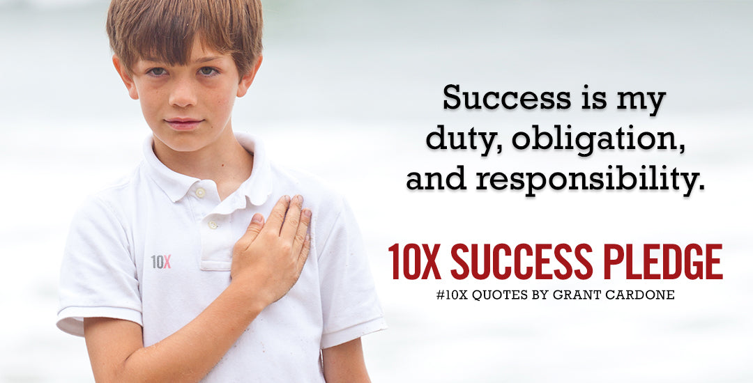 10Xquotes-Success_Pledge