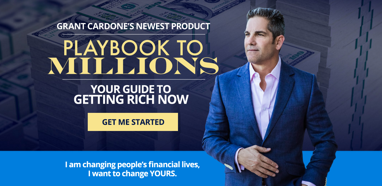 Playbook to Millions by Grant Cardone