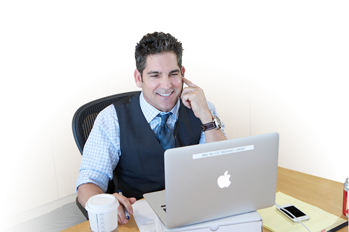 Grant Cardone at his Desk
