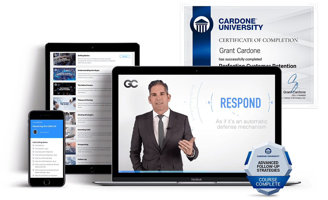 Cardone University Website Image