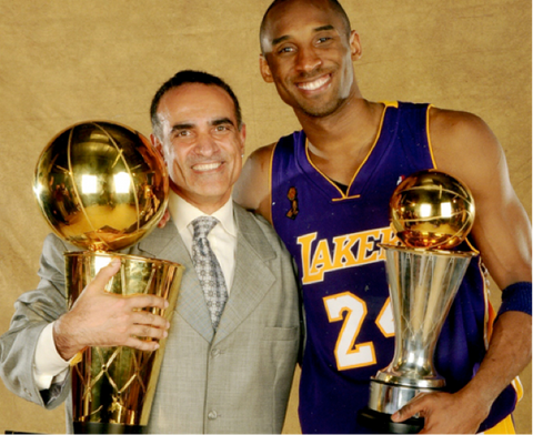 Tim Grover with 5-time NBA Champion Kobe Bryant