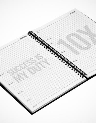 10X Daily Planner: The Entrepreneur's Journal