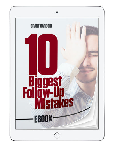 10 Biggest Follow-Up Mistakes | eBook