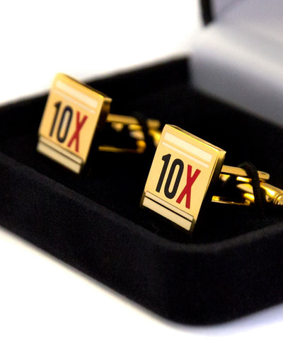 Premium Limited Edition 10X Cufflinks