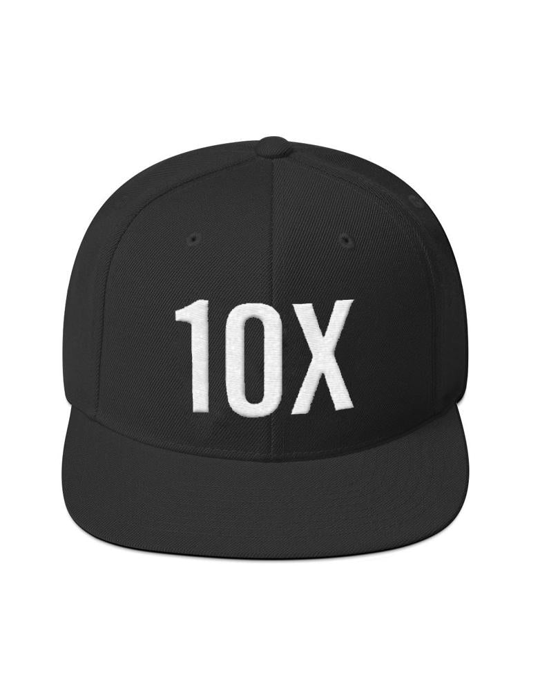10X – Don't Be A Little Bitch – Black – Snapback Hat