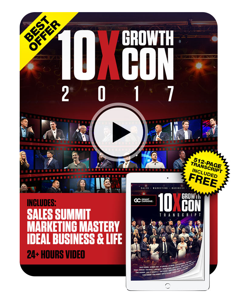 10X Growth Conference 2017 Official Recording + Exclusive Transcript