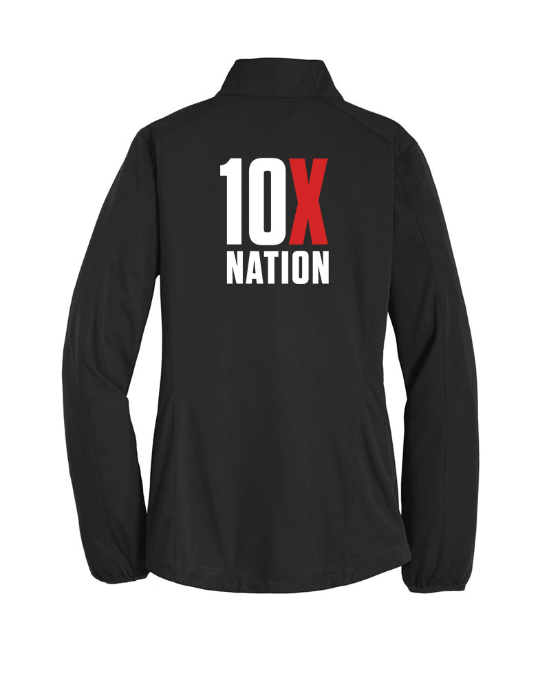 10X Nation - Ladies Windbreaker